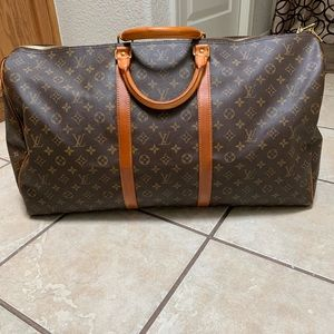 Louis Vuitton Authentic Keepall 55